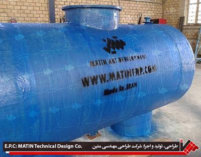 GRP Tank Of Tehran